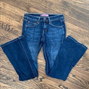 Levi's brand boot cut jeans